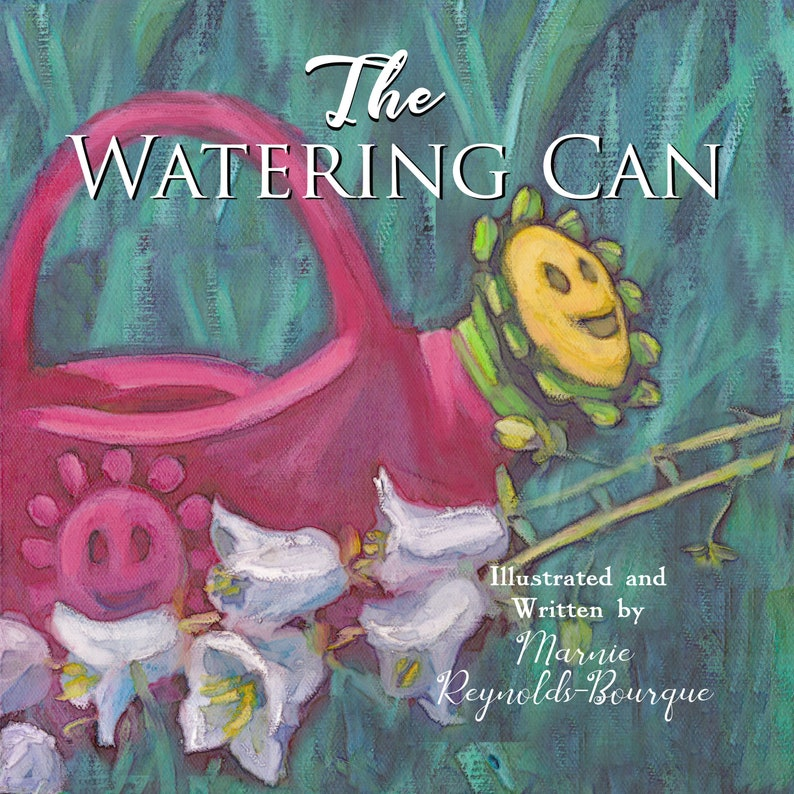 The watering can children's story children's books image 0