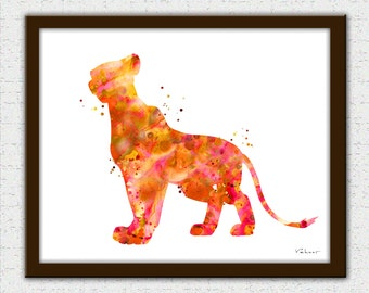 The Lion King Print Lion King Art Disney The Lion King Lion Etsy