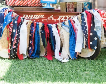 f9d88e4c417396 Patriotic Banner Red White Blue Bunting USA Fabric Banner Summer 4th of  July Labor Day Backyard Party Decoration Photo Prop Backdrop Decor