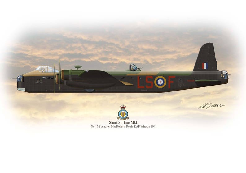 Aviation Collectible Framed Mounted Raf Bomber Collectors Cards Art Prints