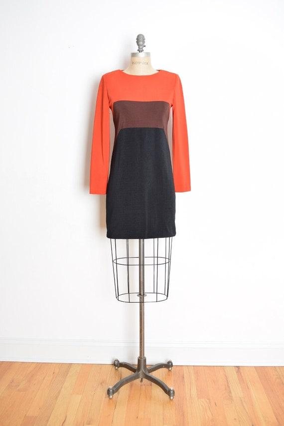 vintage 90s dress, geometric dress, color block dr