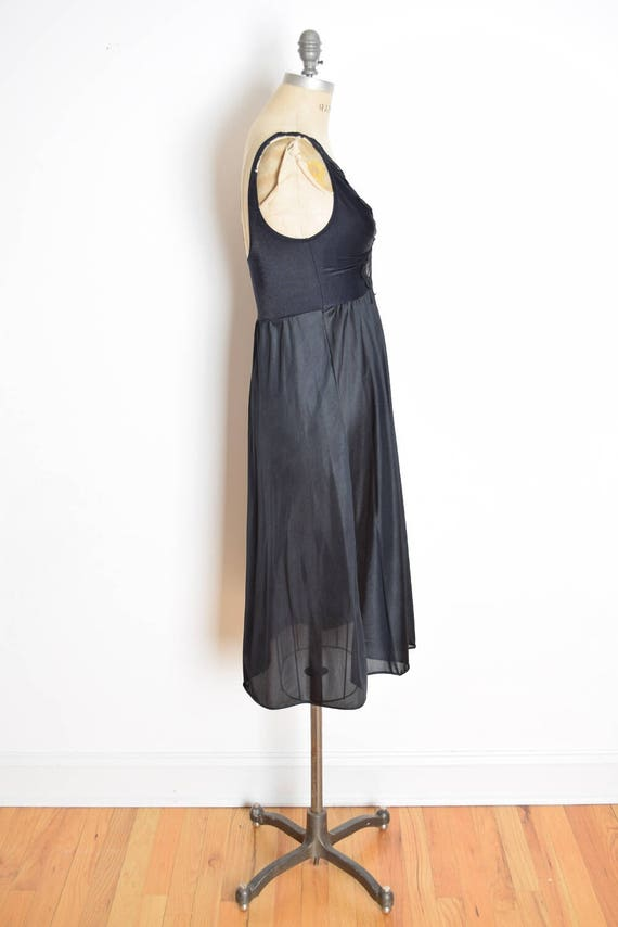 vintage olga gown olga nightgown black nightgown stretch   Etsy