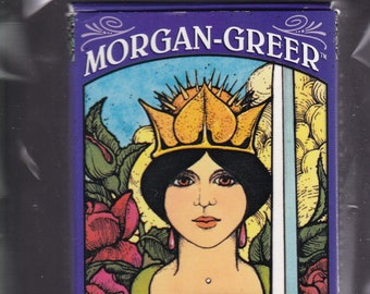 """Morgan-Greer Tarot 78 Card Deck. 2 3/4"""" x 5"""" In Like-New In-wraps Condition."""