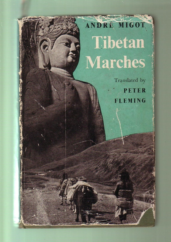 Tibetan Marches By Andre Migot Antique 1955 Hardback In Good Etsy