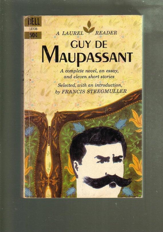Guy De Maupassant Ed By F Steegmuller Delllaurel 1959 1st Etsy