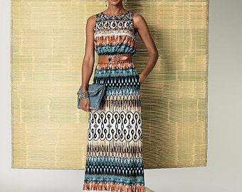 Butterick Sewing Pattern B6330 Misses' Jacket, Elastic-Waist Dress, Romper and Jumpsuit