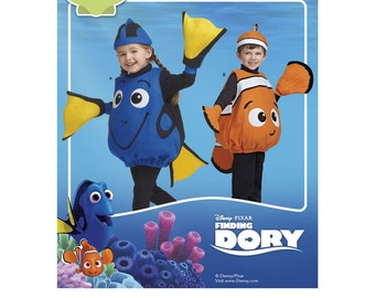 Simplicity Sewing Pattern 8239 Disney Finding Dory Costumes for Toddlers