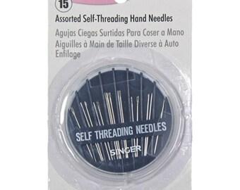 Singer 15 Self-Threading Hand Needle Compact #00290