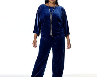 Butterick Sewing Pattern B6144 Misses' Tops, Gown and Elastic-Waist Pants