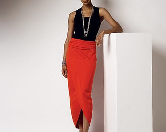 Butterick Sewing Pattern B6219 Misses' Elastic-Waist Yoke Skirts