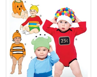 McCall's Sewing Pattern M7672 Infants' Costumes