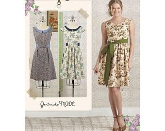 Simplicity Sewing Pattern 8294 Misses'/Petite Dress and Sash