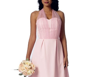 Butterick Sewing Pattern B6131 Misses' Sweetheart-Neckline Dress and Sash
