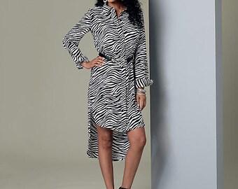 Butterick Sewing Pattern B6294 Misses' Curved-Hem Tunics and Elastic-Waist Pants