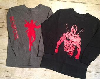 Youth Deadpool Shirt
