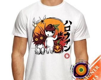 Kodama - Halloween T-Shirt Majora Mask Video Game Trick or Treat Pumpkin Shirt