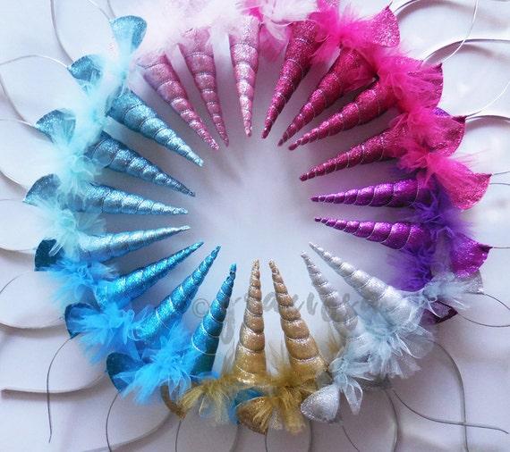 Sparkle Unicorn Headbands Sparkle Unicorn Party Pack Bulk