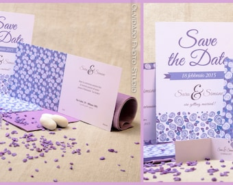 Floral Theme invitations-Life is a Flower