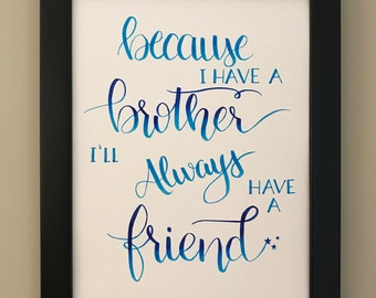 Always Have A Friend Etsy