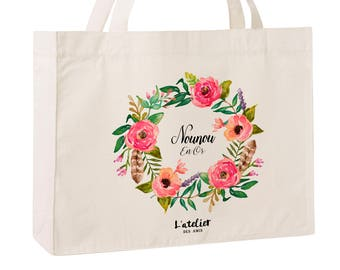 W5Y Tote bag custom wedding, Bridesmaid bags, Wedding Bags, Bridal Pary Gifts, Personalized Handbags, Bridesmaid Gifts,  by atelier des amis
