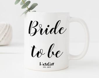 M40T Mug Bride to be, mug en céramique, maison et cuisine, mug coffee, mug tea, tea time, coffee time, gift mug, mug summer time