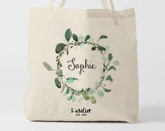 W160Y tote bag mariage, custom tote bag, sac fourre-tout, sac à langer, wedding bag, bridesmaid, tote bag evjf, sac en coton, bridesmaid bag