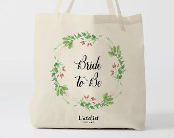 W145Y tote bag mariage, custom tote bag, sac fourre-tout, sac à langer, wedding bag, bridesmaid, tote bag evjf, sac en coton, bridesmaid bag
