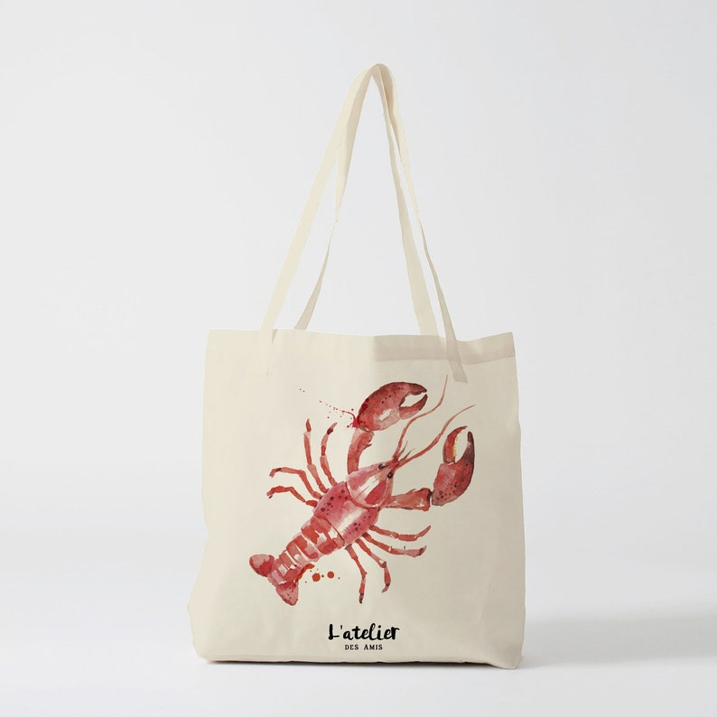 89d27c4cea X263Y Tote bag lobster gift for friend tote bag cheers tote