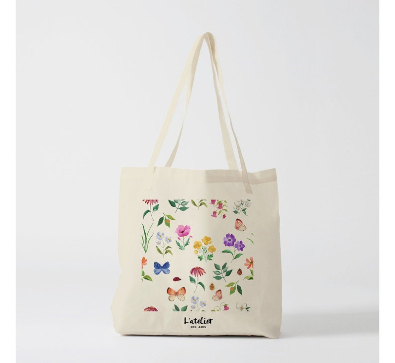 tote bag enjoy sun surf purse gift for friend shopping bag diaper bag gift for mother X549Y Tote bag forest shopping bag