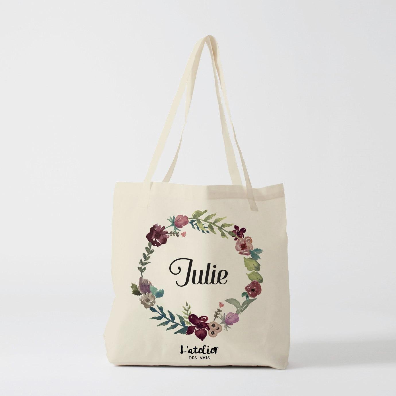 w103y tote bag personnalis wedding sac de toile cabas sac. Black Bedroom Furniture Sets. Home Design Ideas