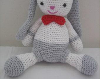 AMIGURUMI bunny ears blanket 100% cotton
