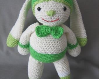 Amigurumi bunny ears 100% cotton yarn