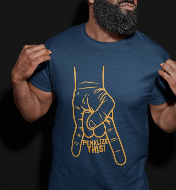 Penalize This T-Shirt GOLD /& BLUE