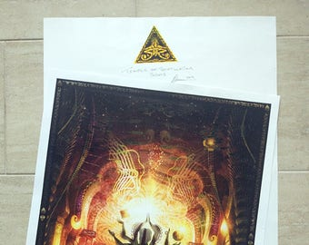 """Limited Edition Print of """"Temple of Scintillated Sights"""""""