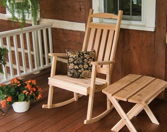 Red Cedar Classic Porch Rocker