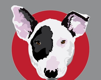 Hand Drawn Dog Portrait - Personalized Pet Drawings as Sympathy Gifts, Memorials or Pet Parent Present - Custom Digital Drawing From Photo