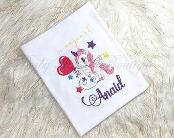 Unicorn Girl Shirt, Girl Unicorn Shirt, Unicorn Bodysuit, Unicorn Shirt, Unicorn Bodysuit, Unicorn T-shirt, Unicorn Tee, Unicorn Bodysuit
