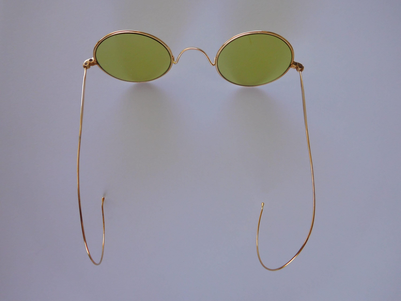 Tiene Cool Specs  Increíble francés victoriano 19th siglo 18K