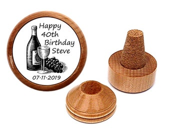 Personalised 40th Birthday Gift Present Idea