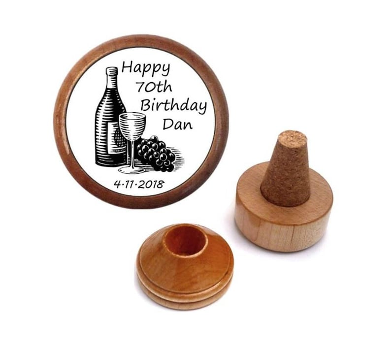 Personalised 70th Birthday Gift Men