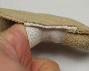 20x Cotton finger guard cots elastic avoid finger prints clean polish craft tool