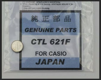 Casio lithium watch Capacitor CTL 621F rechargeable battery new stock batteries
