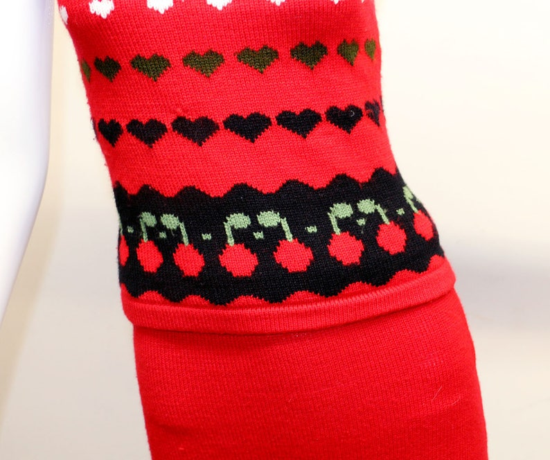 Atomic Cherries Sweater Clip