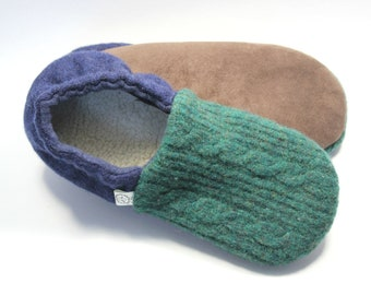 3b67e5a8935 Kids Wool Slippers - Waldorf - Gift for Boy - Boys Slippers - Girls Slippers