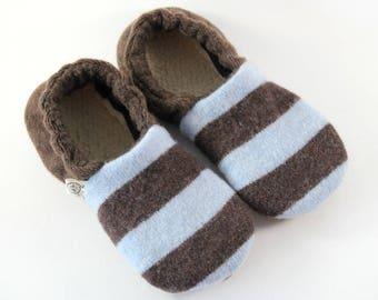83f8ac56e957 Kids Slippers - Waldorf Slippers - Wool Slippers - Classroom Slippers -  Waldorf - Boys Slippers