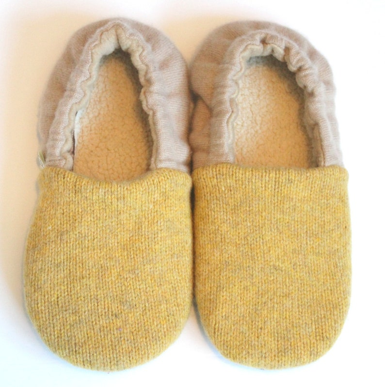 2b00c8ff254c2 Wool Slippers size 7-8 - Cozy Gift for Her - Gift for Mom - Wife Gift