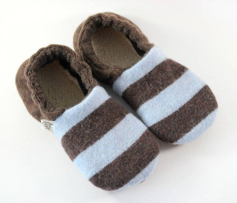 b76420d56204 Kids Wool Slippers Waldorf Shoes Kids Gift Gift for Boy