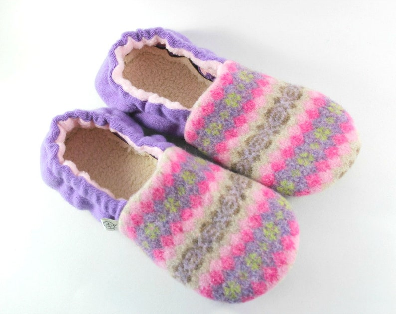 32e37c4eca211 Gift for Mom - Pink Slippers size 7-8 - Gift for Wife - Breast Cancer Gift-  Get Well Gift