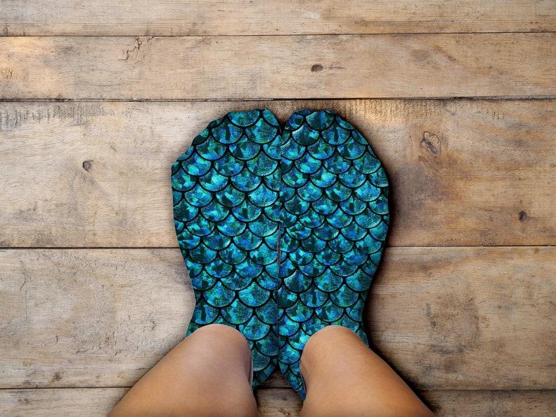 Mermaid, Custom Socks, Socks for Women