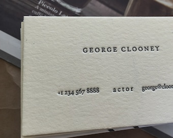 Superb Popular Items For Letterpress Business Cards